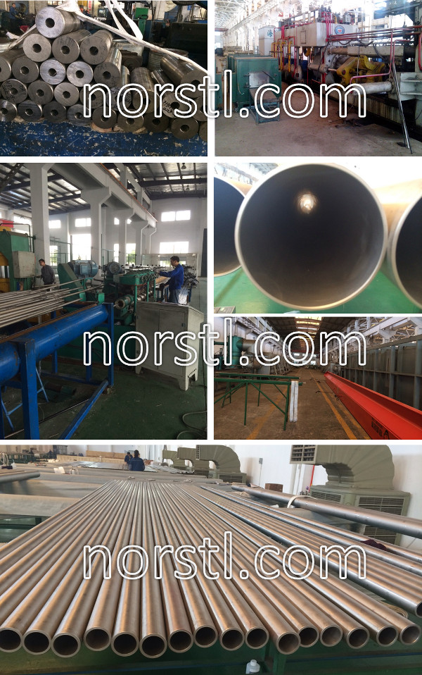 titanium-seamless-tube-production