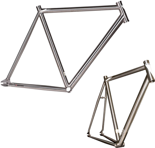 titanium bike frame geometry